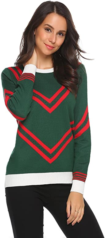 : UNibelle Women's Soft Pullover Christmas Tree