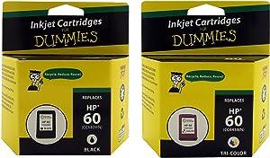 Ink for Dummies CC640WN Inkjet Cartridge, Black/Tri-Color