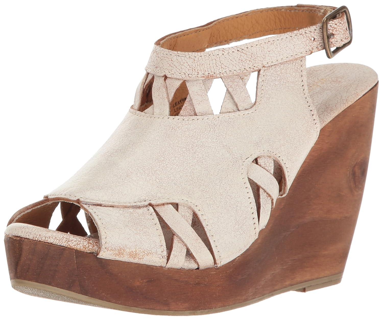 Very Volatile Women's Sloane Wedge Sandal B01LYB6Y2C 6 B(M) US|Off White