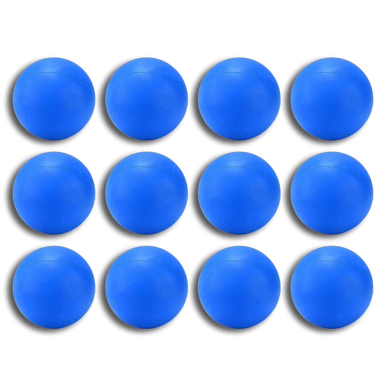 ラクロスマッサージボール ブルー 12個パック ブルー 12個パック B07KRN7YJ6, 浜頓別町:6874b14e --- zonespirits.xyz