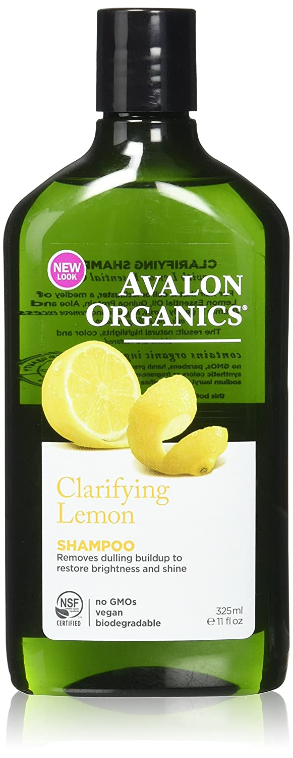 Lemon Clarifying Shampoo 11 Ounces Avalon Organics 306
