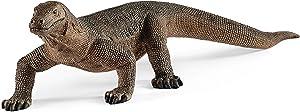 SCHLEICH Wild Life, Animal Figurine, Animal Toys for Boys and Girls 3-8 Years Old, Komodo Dragon