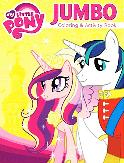 Amazon.com: My Little Pony Coloring And Activity Book - Featuring Princess  Cadence ~ 96 Pgs ~ Cover Image Varies: Toys & Games