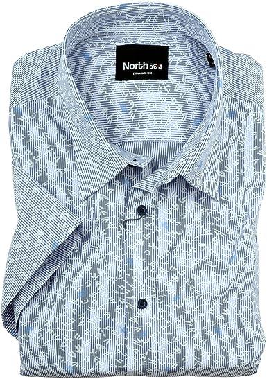 Allsize XXL Norte 56°4 by Camisa Manga Corta Estampada Floral ...