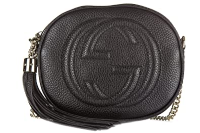 39ff4d8f1850 Gucci sac femme bandoulière en cuir soho cellarius noir  Amazon.fr ...