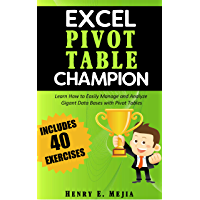 Pivot Tables Champion: Learn to create Excel Pivot Tables like a Pro to Summarize and Manage Giant Databases in Excel…