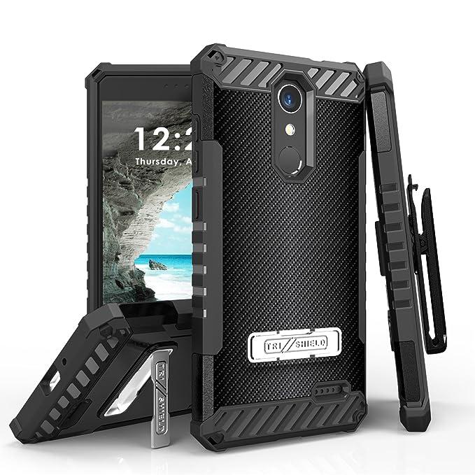 Amazon com: Beyond Cell Tri-Shield Case Compatible ZTE Blade