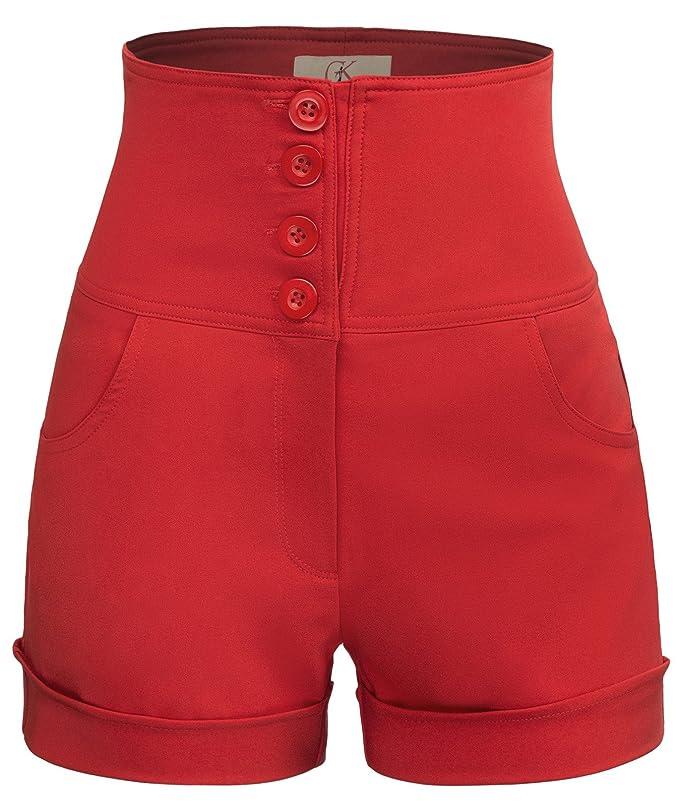 Short elegante de cintura alta para fiesta - Pantalones cortos elegantes de Cintura alta para fiesta.