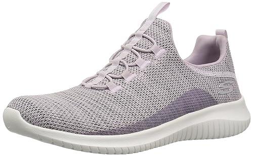 Precio Medio Mujer Skechers Para Dama Lavanda Zapatos