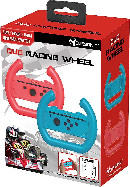Subsonic - Pack de 2 volantes para JoyCons (Nintendo Switch): Amazon.es: Videojuegos