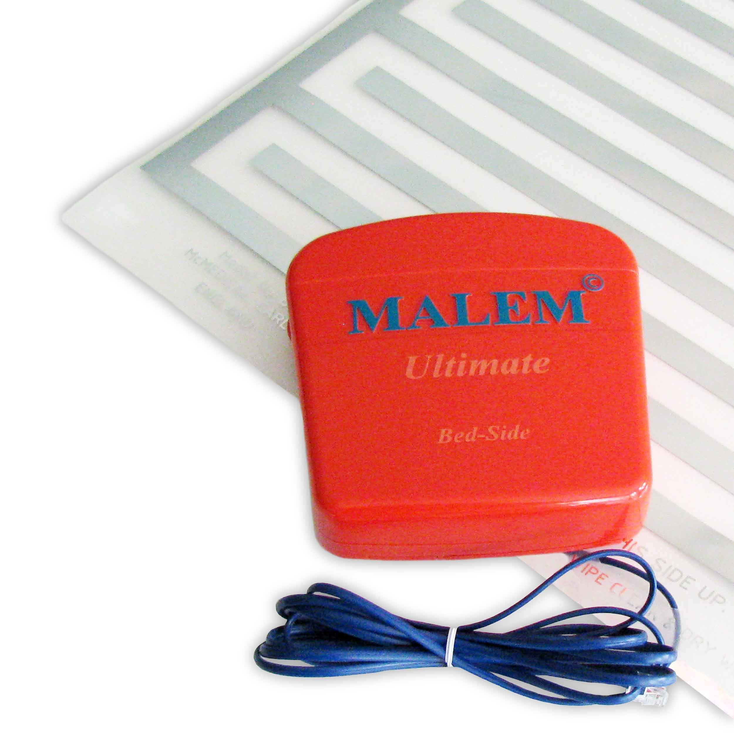 Malem Bed-Side Bedwetting Enuresis Alarm with Pad [Health and Beauty] by Malem