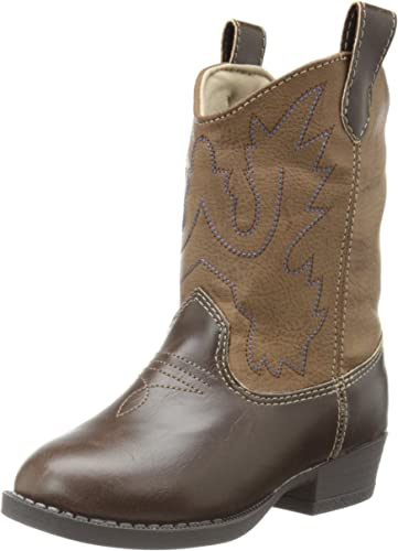 Infant Baby Deer Soft Sole Western Boot