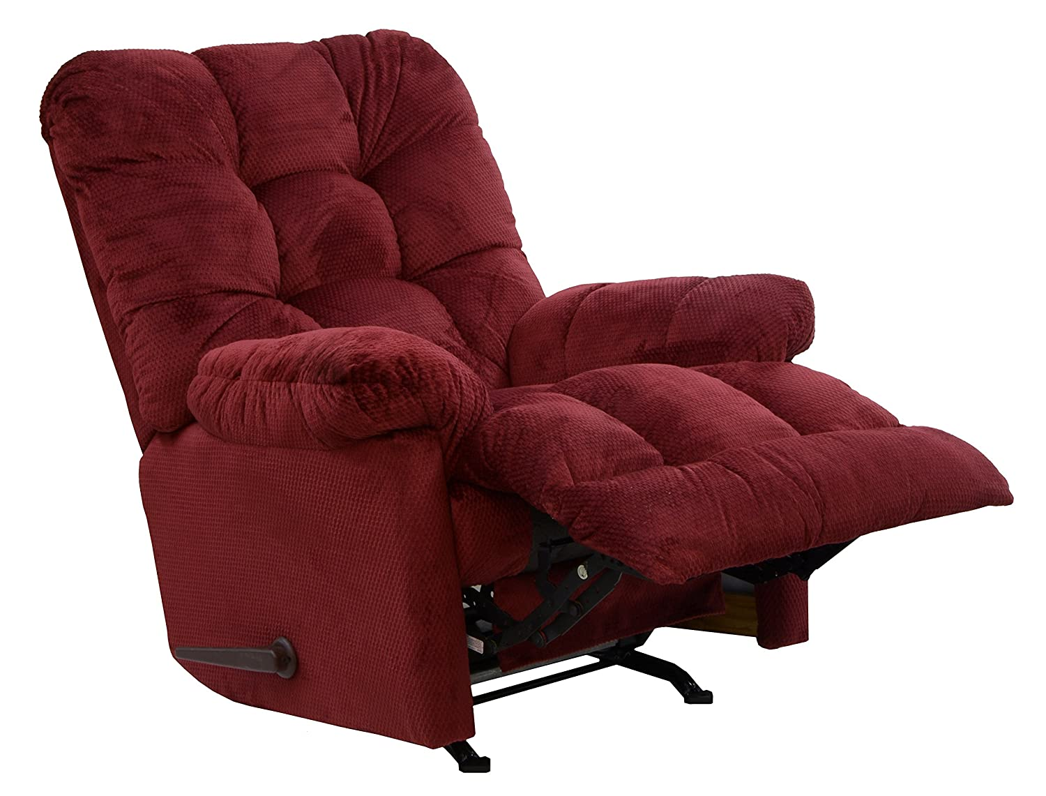 Amazon.com CATNAPPER 47372176540 Nettles Merlot Chaise Rocker Recliner Deluxe Heat and Massage Kitchen u0026 Dining  sc 1 st  Amazon.com : recliner chaise - Sectionals, Sofas & Couches