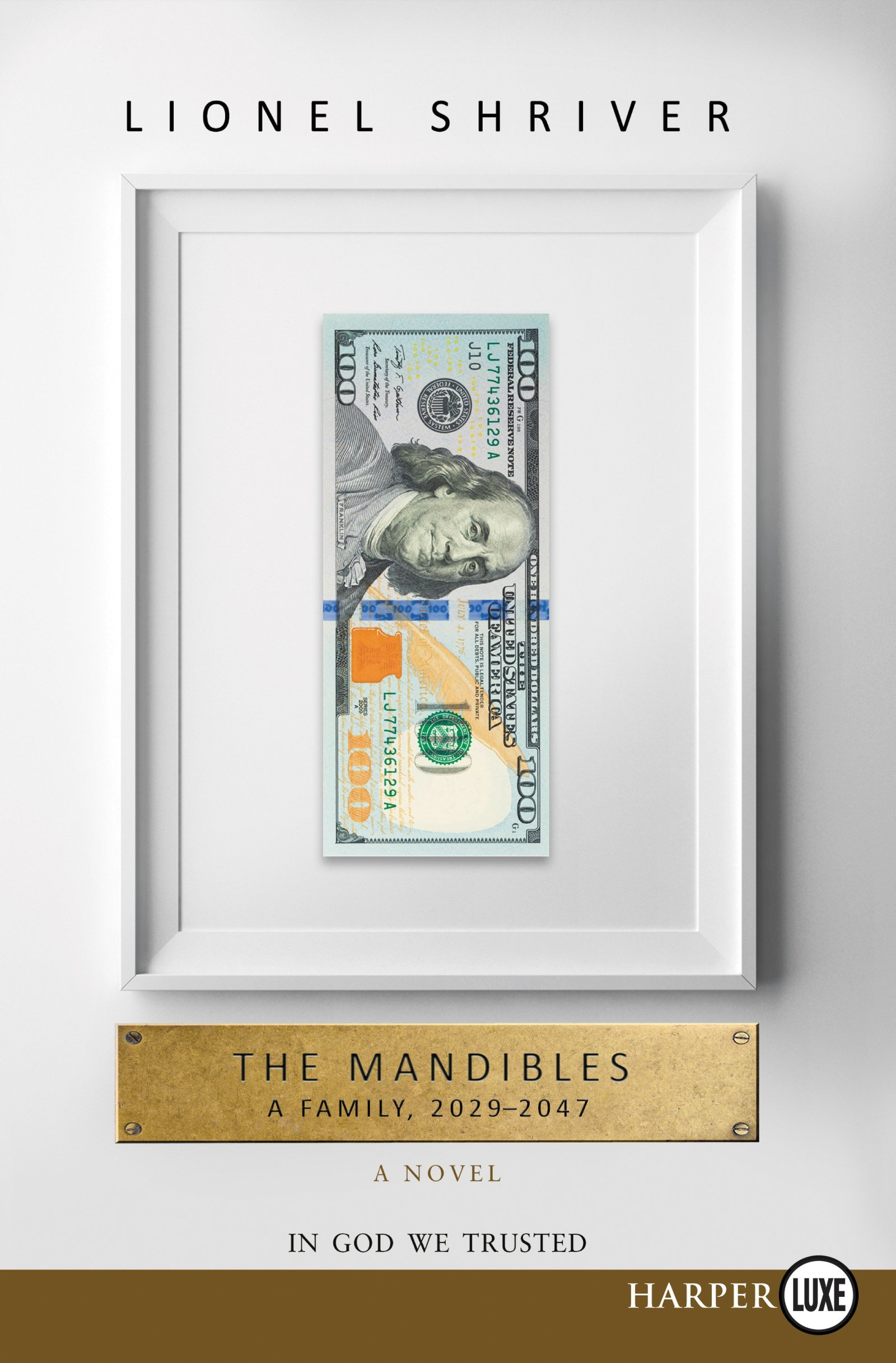 Amazon: The Mandibles: A Family, 20292047 (9780062467140): Lionel  Shriver: Books