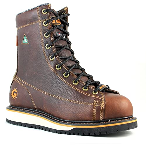 8569ae4281f JB Goodhue Men's 07887 Rigger Brown boots 7 3E