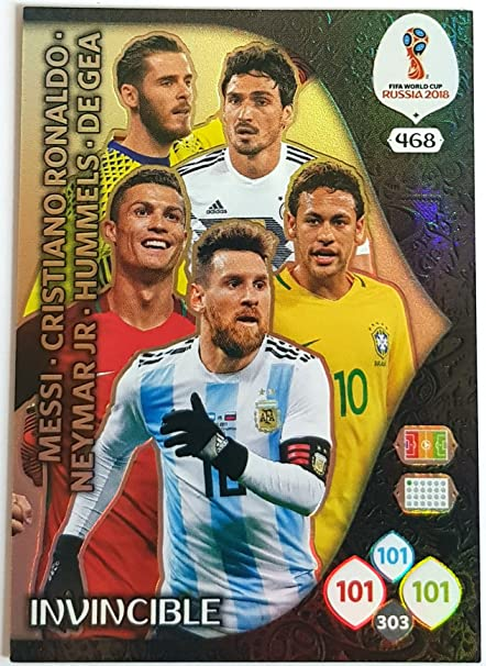 e62cf88b1739e Amazon.com: ADRENALYN XL FIFA WORLD CUP 2018 INVINCIBLE CARD ...