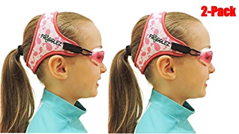 4a4212698aa Amazon.com   Frogglez NEW Comfort Kids Swimming Goggles with Custom ...
