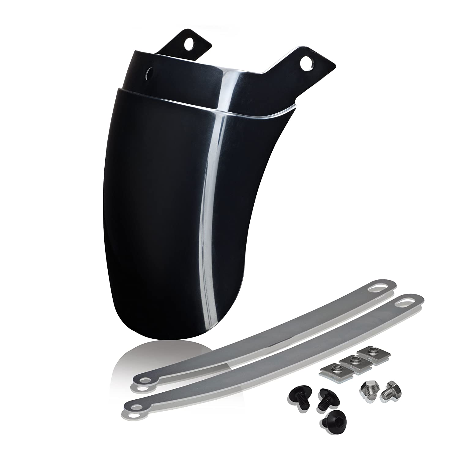 Show Chrome Accessories 52-937 Black Front Fender Extension
