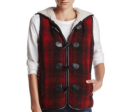 9afdf7938fd Ruff Hewn Plus Size Toggle Vest Brown