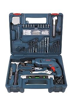 Bosch GSB 500W 500 RE Tool Set (Blue) Drill Tool Kits at amazon