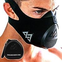 TRAININGMASK Maska treningowa 3.0 [All Black] do fitnessu, maski treningowej, maski do biegania, maski oddechowej, maski…