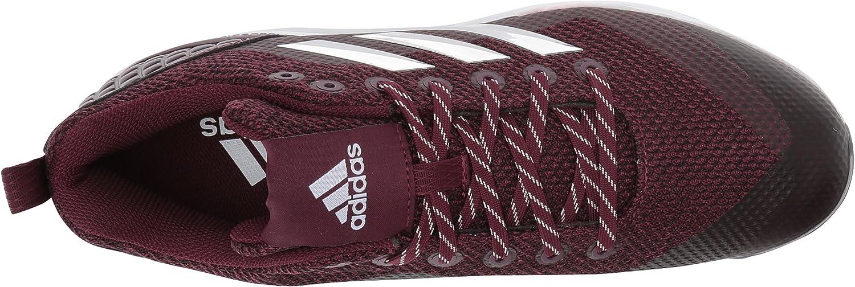 adidas - Poweralley 5, Freak X Carbon Mid Uomo Marrone Castagna Metallizzato Argento Bianco