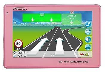 Takara GP73 - Navegador GPS para Coche (mapas de Europa ...
