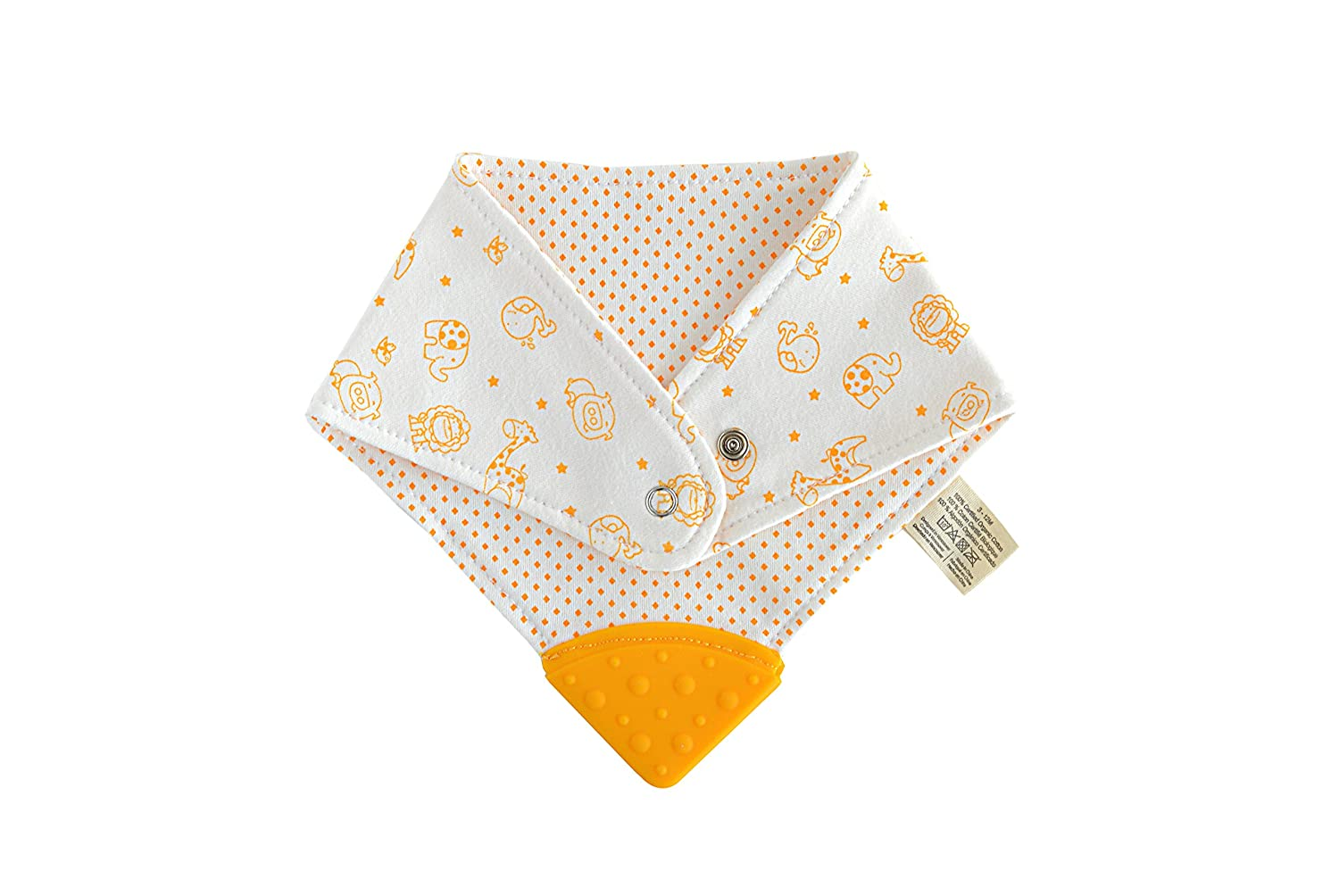 Marcus & Marcus' Organic Teething Bib, Lola the Giraffe 11506