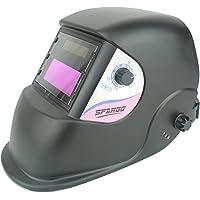 Spargos Casco de soldadura con protección para los ojos y protección solar
