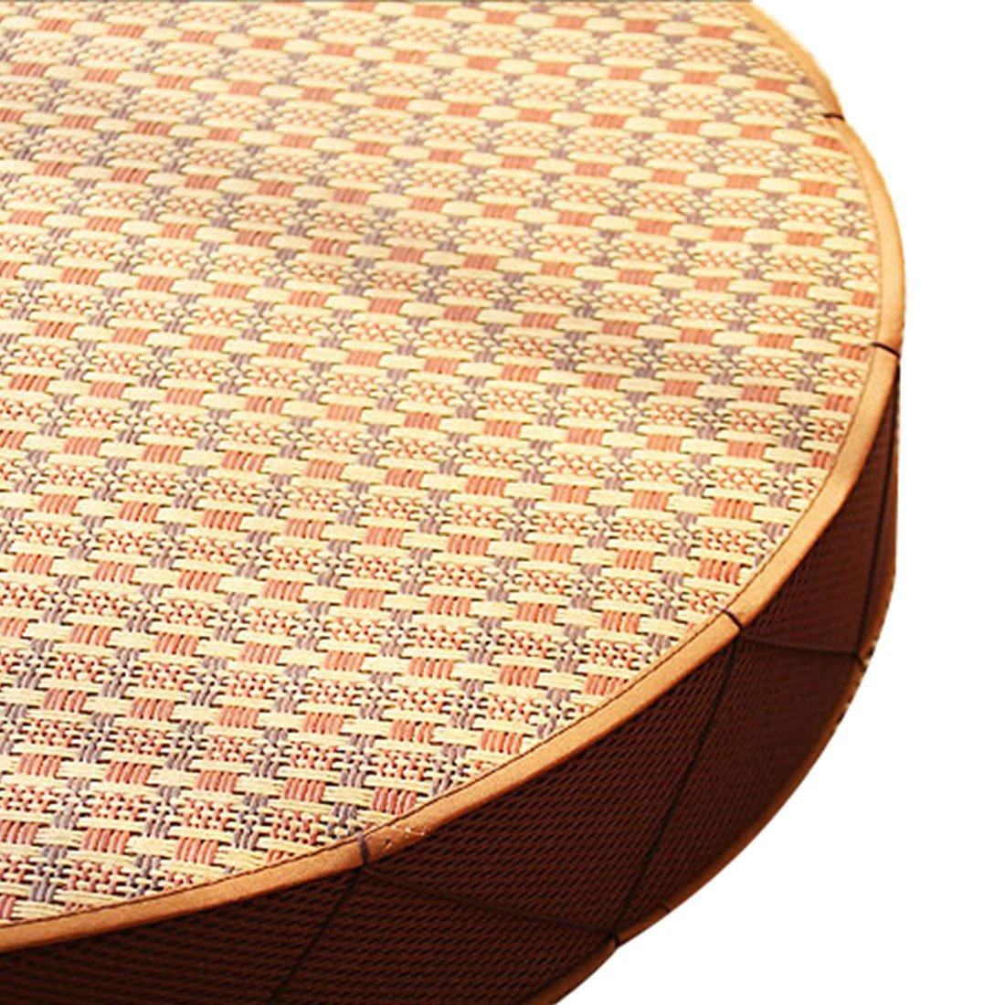 Round Wood Tree Soft Plush Chair Seat Cushion Stump Shaped Pillow 11.8x1.6inch by Fandim Fly (Image #3)