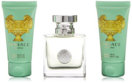 Versace Versense - Set agua de colonia (50 ml), gel de ducha (