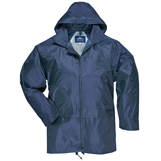 Portwest Men's Classic Rain Jacket at Amazon Men's Clothing store ...