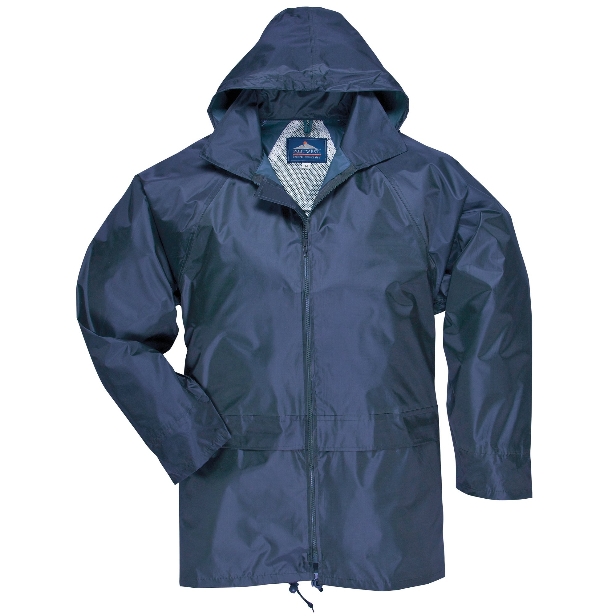 Portwest Classic Rain Jacket - Navy - L by Portwest