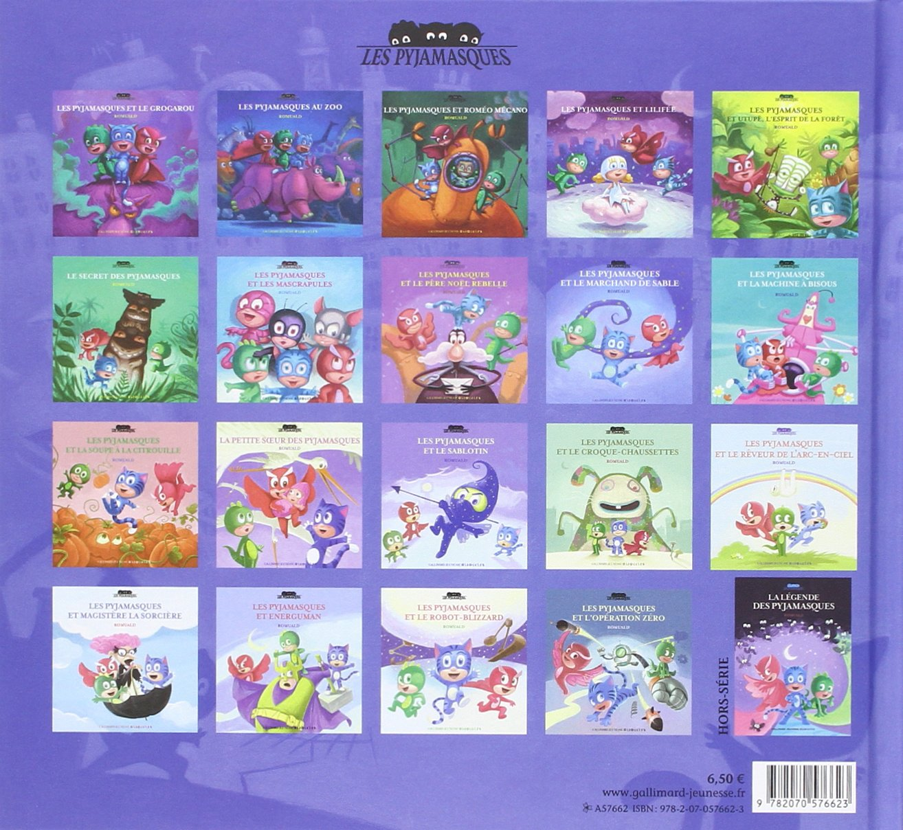 Les Pyjamasques au zoo (French Edition): ROMUALD RACIOPPO: 9782070576623: Amazon.com: Books