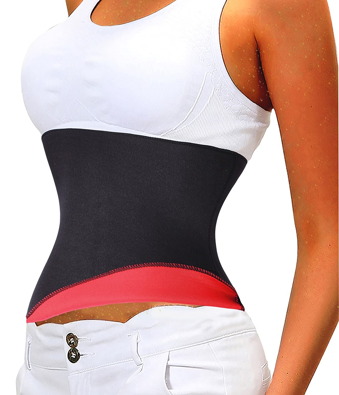 Gotoly Lumbar Back Brace,Thermo Sweat Hot Neoprene Body Shaper Slimming Waist Cincher Sexy