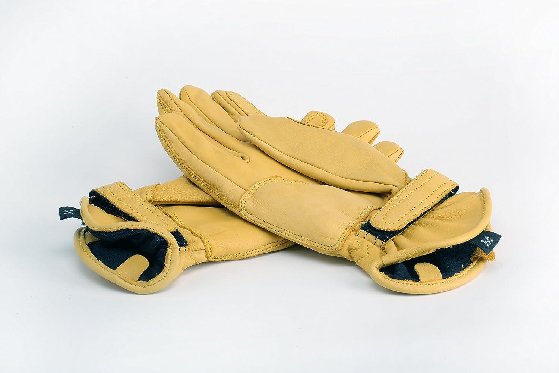 M, Wachs Beige Motorrad Handschuhen Racing Kevlar gewachst Leder Handschuhe Wachs