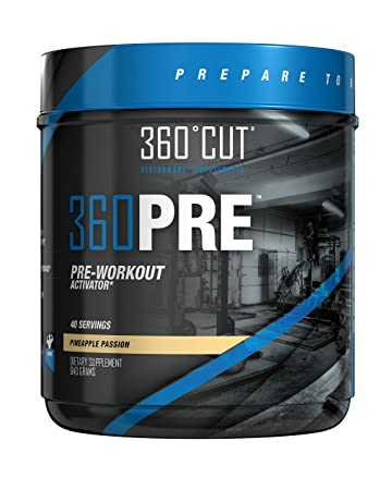 Amazon Com 360pre Energy Powder Fat Burner Pre Workout Energy