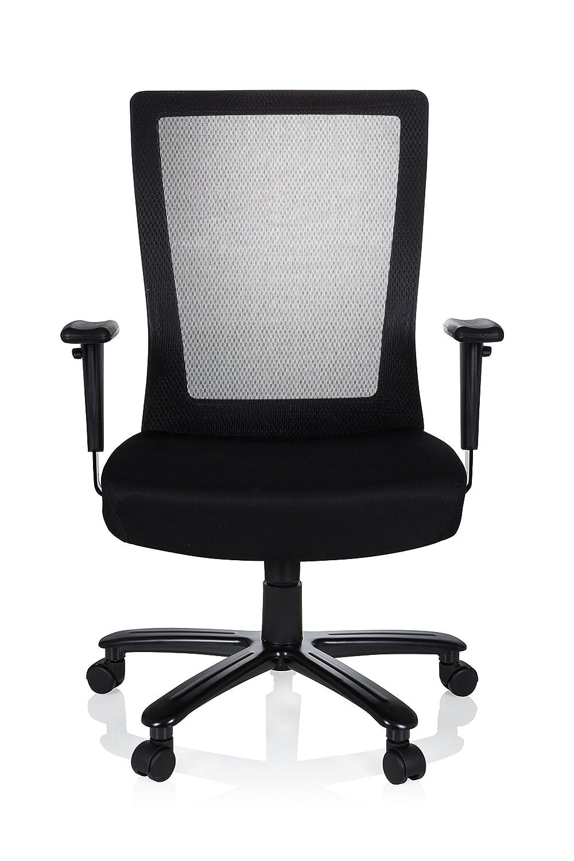 senza freno 11 mm Hjh OFFICE 619027-Set di 5 rotelle per Sedia da ufficio per pavimenti duri 50 mm nero