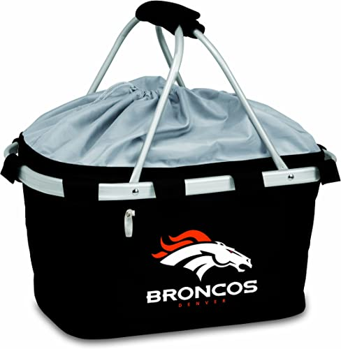 NFL Denver Broncos Metro Insulated Basket, Black