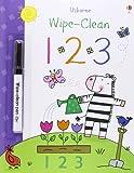 123 (Usborne Wipe Clean Books)