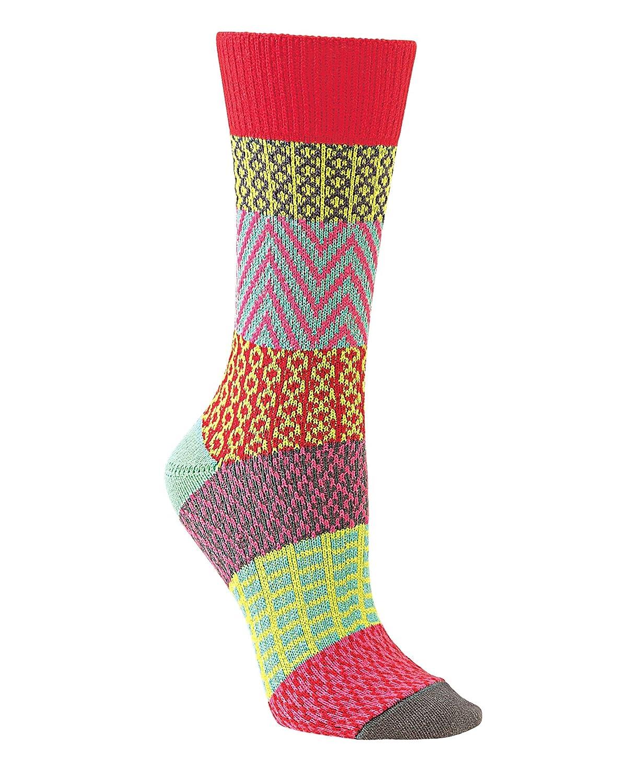 World's Softest Womens Soft Knit Gallery Crew Socks WS66614