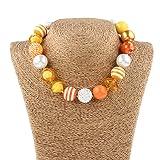 vcmart Kids Chunky Necklace and Bracelet Set