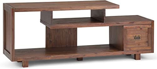 Simpli Home Monroe SOLID WOOD Universal TV Media Stand