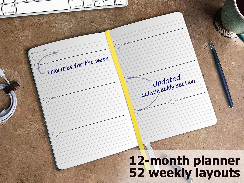 Agenda y planificador personal diario - Organizador semanal ...