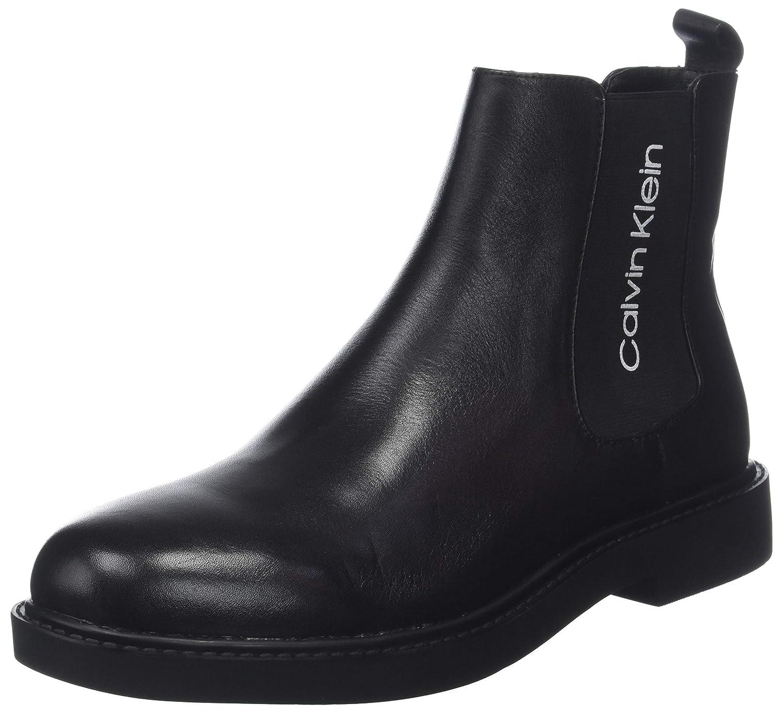 Calvin Klein Yash Waxy Calf, Botas Chelsea para Hombre
