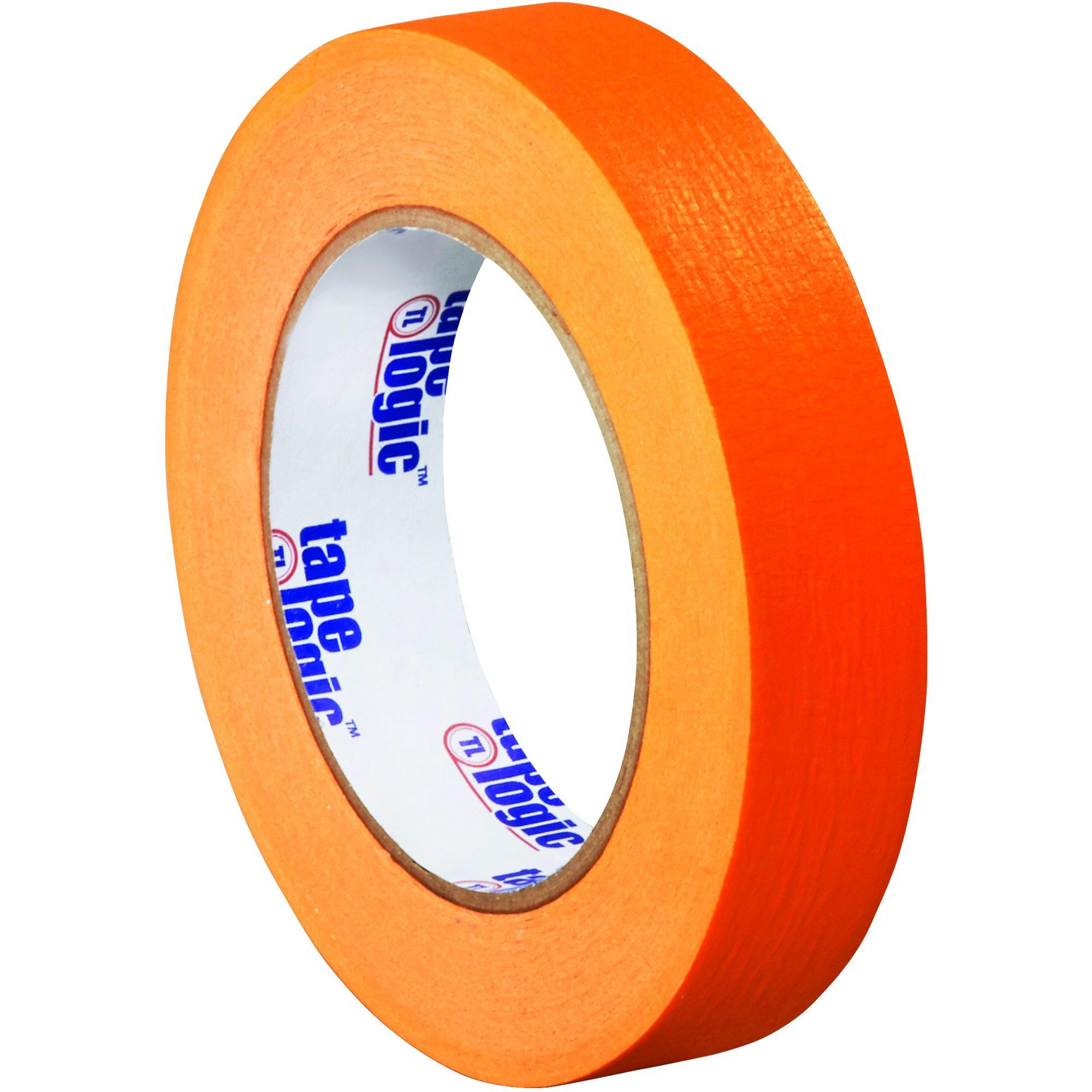 BOX USA BT93500312PKD Tape Logic Masking Tape, 1'' x 60 yd., Orange (Pack of 12)