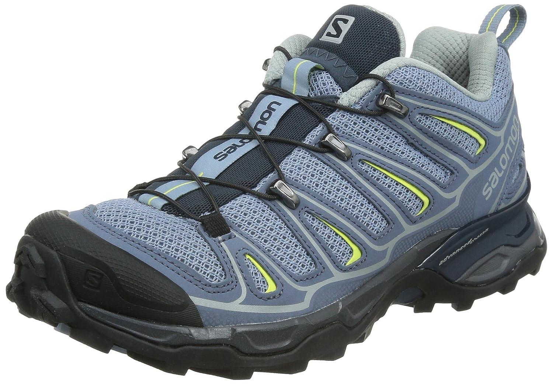 [サロモン] トレッキングシューズ XA PRO 3D ゴアテックス レディース 防水 登山靴 B00KWKDK82 5 B(M) US|Stone Blue / Bleu Gris / Flashy-X Stone Blue / Bleu Gris / Flashy-X 5 B(M) US