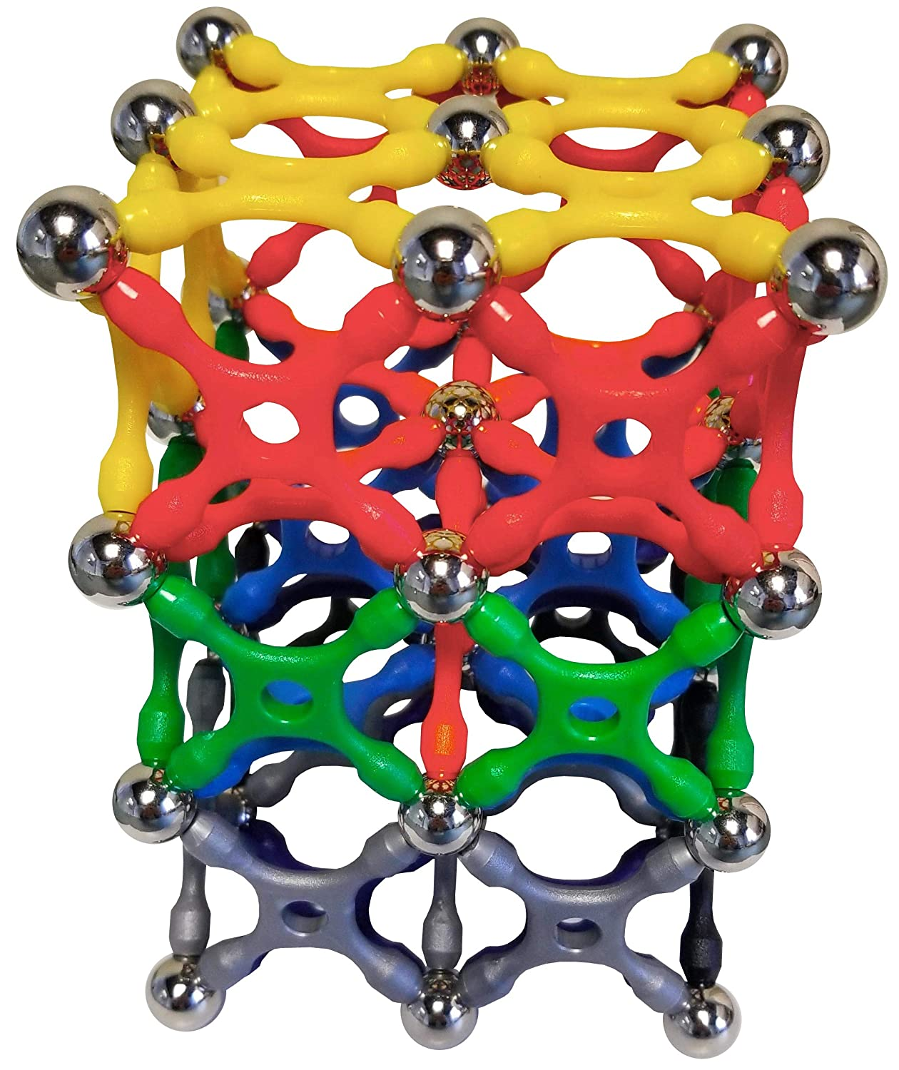 Magz-X 96 Classic Magnetic Building Set consisting of 24 Xs 24 rods and 48 Steel Balls