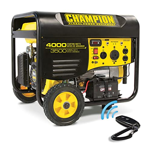 Champion 3500-Watt RV Ready Portable Generator with Wireless Remote Start CARB