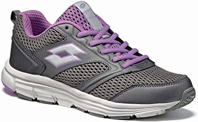 LOTTO S7615 SPEEDRIDE 500 W Tit GRY/SLV MT 36,5: Amazon.es: Zapatos y complementos